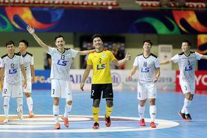 Thái Sơn Nam trước cơ hội tạo nên lịch sử futsal châu Á