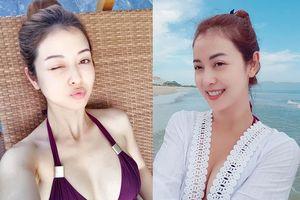 Jennifer Phạm khoe ảnh bikini gợi cảm tắm biển cùng gia đình