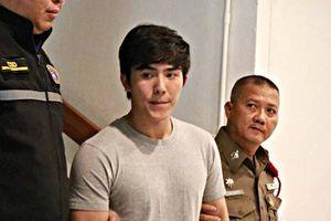 Diễn viên Thái Lan bị bắt ngay tại phim trường đúng ngày sinh nhật