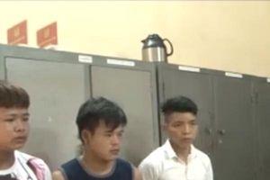 Phú Thọ: Bắt giữ băng nhóm gây ra 2 vụ cướp trong đêm