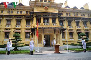 Vẻ đẹp cổ điển quyến rũ của tòa nhà trụ sở Bộ Ngoại giao Việt Nam