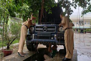 Chủ Mercedes-Benz G55: Gắn biển số quân đội chạy cho oai