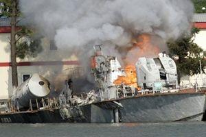 'Tác giả' đánh chìm chiến hạm Gruzia trong cuộc chiến 5 ngày