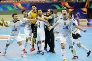 CLB Thái Sơn Nam lội ngược dòng vào chung kết Giải futsal châu Á