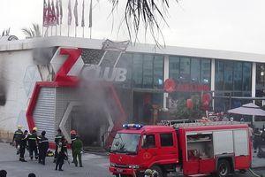 Cháy vũ trường vũ trường Zima ở Nha Trang