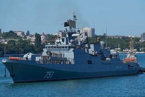 Tàu chiến Nga phát hiện được tàu ngầm hạt nhân Mỹ 'lén lút' dưới biển