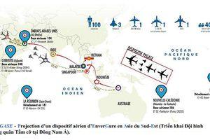 Chiến dịch PEGASE của Không quân Pháp sẽ được triển khai tại Việt Nam