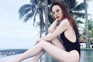 Đàm Thu Trang khoe vóc dáng nuột nà với bikini