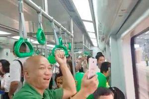 Lần đầu tiên người dân Hà Nội đi tàu điện Cát Linh – Hà Đông