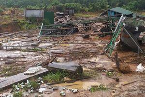 Kon Tum: Nước lũ nhấn chìm nhiều vùng huyện biên giới Ia H'Drai