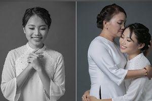 Phương Mỹ Chi chia sẻ xúc động khi chụp ảnh cùng mẹ nhân mùa Vu Lan