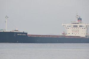 Tàu hàng 'dở khóc dở cười' của Mỹ cập cảng Trung Quốc