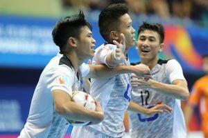 Clip: Thái Sơn Nam giành ngôi á quân châu Á 2018 trong tiếc nuối