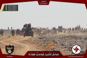 'Hung thần Syria' tốc chiến truy diệt IS trên hoang mạc Sweida