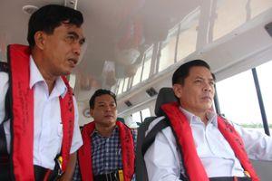 Bộ trưởng Nguyễn Văn Thể: Trà Vinh cần khai thác hiệu quả Dự án Luồng sông Hậu