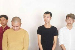 Tạm giam 4 đối tượng côn đồ tấn công 2 nạn nhân thương vong