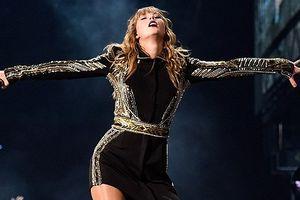 Taylor Swift xinh đẹp, quyến rũ trong đêm nhạc ở Atlanta