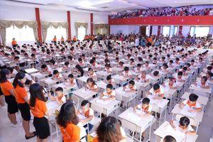 250 học sinh tham dự kỳ thi tính nhẩm siêu tốc cấp quốc gia - Soroban