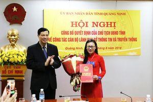 Nữ nhà báo Lê Ngọc Hân được bổ nhiệm làm Giám đốc Sở Thông tin và Truyền thông Quảng Ninh