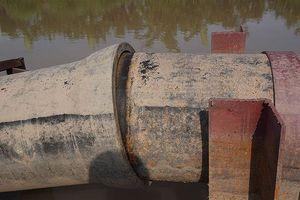 Hàng nghìn hộ dân Hoài Đức đã có nước sau sự cố rò rỉ đường ống