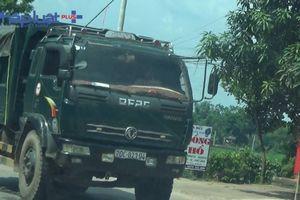 Kỳ 1 - Xe tải 'bày trận' phá đường trên Quốc lộ 37 từ Thái Nguyên về Bắc Giang