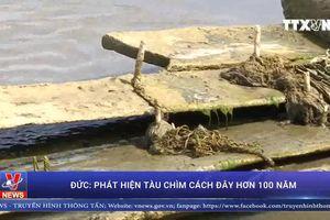 Bất ngờ phát lộ tàu chìm cách đây hơn 100 năm tại Đức