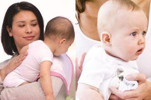 Trẻ sơ sinh không còn quấy khóc nếu mẹ biết 3 cách vỗ ợ hơi đơn giản này