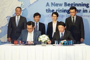 UOB Việt Nam ký biên bản hợp tác đầu tiên kêu gọi vốn đầu tư nước ngoài vào Việt Nam
