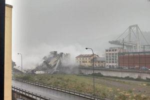 Sập cầu đường bộ ở Ý, 30 người chết