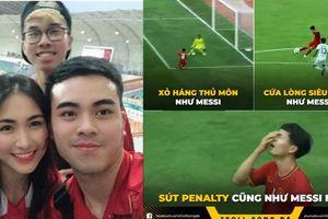 Công Phượng vươn đến tầm Aguero, Hòa Minzy sung sướng mừng bàn thắng