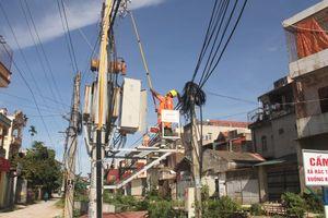 Điện lực Hoằng Hóa: Bảo đảm an toàn lưới điện trong mùa mưa bão