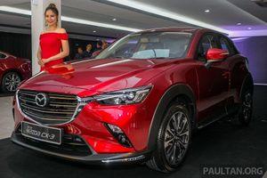 Mazda CX-3 2018 bản nâng cấp giá chỉ từ 690 triệu đồng