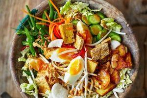 Thưởng thức thiên đường ẩm thực chay tại Indonesia