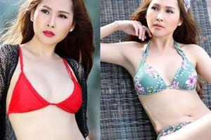 'Gái nhảy' Minh Thư gợi cảm với bikini dù đã ở tuổi 42