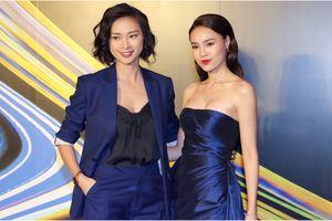 Ngọc nữ màn ảnh Lan Ngọc hờ hững khoe vòm ngực đầy cùng Ngô Thanh Vân 'chuẩn men' công phá sự kiện