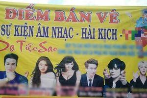 Fan phẫn nộ khi hình ảnh EXO - BTS bị sử dụng trái phép trên banner sự kiện… 'Âm nhạc - Hài kịch'