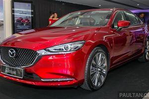 Khám phá Mazda6 phiên bản nâng cấp vừa ra mắt