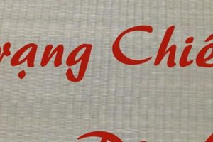 Tam nguyên trạng nguyên dạy dân Việt dệt chiếu