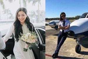 Nữ diễn viên Việt đầu tiên bỏ showbiz xuất ngoại làm phi công là ai?