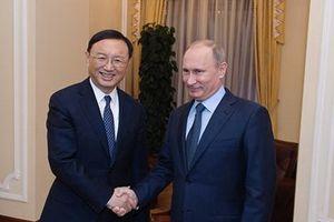 Nga khẳng định sẵn sàng tăng cường quan hệ với Trung Quốc