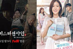Đè bẹp phim của Ji Sung, 'Mr. Sunshine' cùng 'My ID Is Gangnam Beauty' dẫn đầu BXH phim truyền hình