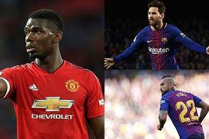 Đội hình 'công cường thủ chắc' của Barca khi có Paul Pogba
