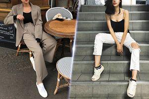 Sneakers trắng có thể biến hóa như thế nào?