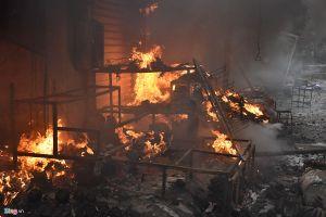 Cháy trụ sở xã, thiêu rụi toàn bộ tài liệu, giấy tờ