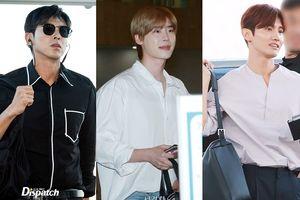 U-Know Yunho (DBSK) nam tính, Max Chang Min cùng Lee Jong Suk tỏa sáng tại sân bay