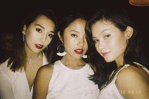 Cùng dress code nhưng Rima Thanh Vy vẫn nổi bật ngời ngời so với đối thủ tại tiệc premiere Asia's Next Top Model 2018