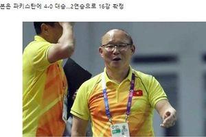 Màn trình diễn của Olympic Việt Nam được báo châu Á ca ngợi
