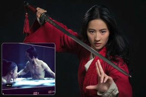 Lộ cảnh tắm tiên của Lưu Diệc Phi trong 'Hoa Mộc Lan'