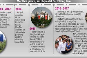 9 bị cáo sai phạm đất đai ở Đồng Tâm được giảm án