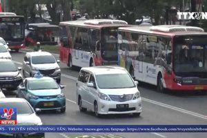 Xe buýt - Giải pháp giao thông tối ưu cho ASIAD 18